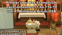 Predigt Video Joh 17,6a.11b-19 Sind wir bereit für Pfingsten?